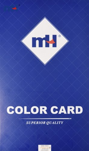 Carta de color de hilo de bordar de poliéster MH