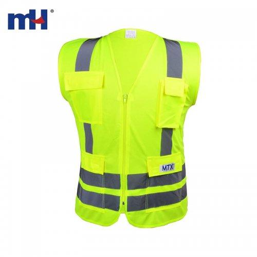 Cinta reflejante de advertencia-precaución para ropa de trabajo