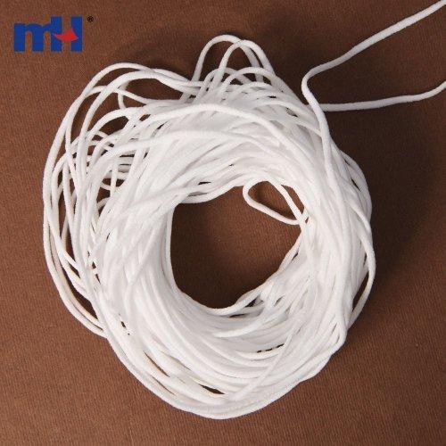 Cordón elástico para cubrebocas