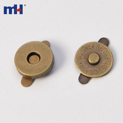 Botón magnético