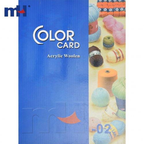 Carta de color de hilo tejer MH
